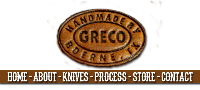 Greco Handmade Knives Made in Boerne, Texas